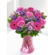 Colour Your Day with Happiness Vase